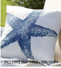 PILLOWS SHIP FREE + 15% OFF