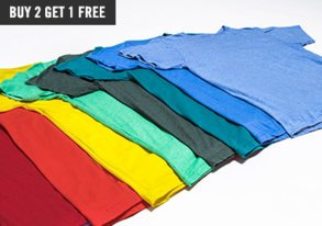 Shop Build Your Collection of Basic Tees
