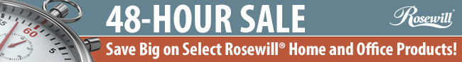 48-HOUR SALE. Save Big on Select Rosewill Home and Office Products!