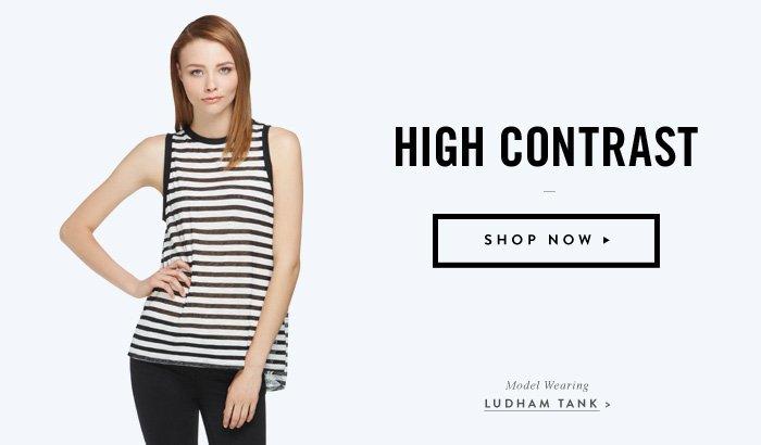 High Contrast - Ludham Tank