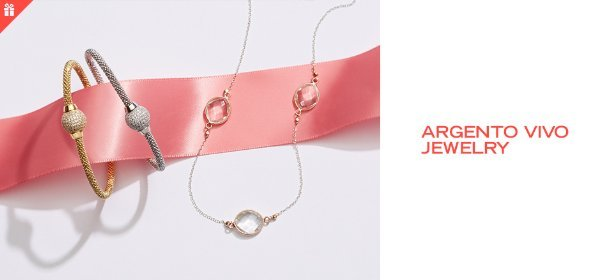 ARGENTO VIVO JEWELRY, Event Ends May 7, 9:00 AM PT >