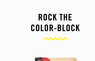 Rock the color-block