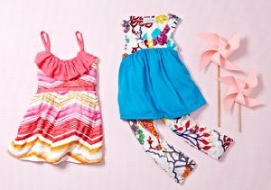 Color Kaleidoscope: Prints for Girls