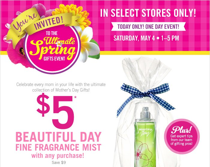 You're Invited to the Ultimate Spring Gifts Event