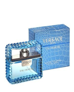 Versace Man Eau Fraiche 1.7 Oz EDT Spray Made In Italy