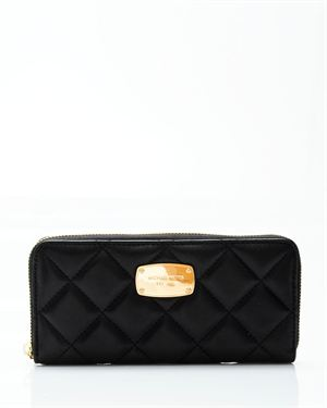 Michael Kors Hamilton Quilt Genuine Leather Continental Wallet