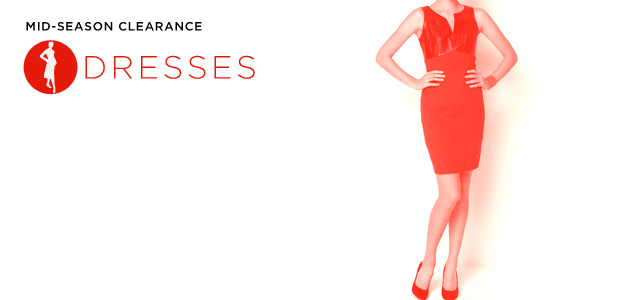 Mid-Season Clearance: Dresses