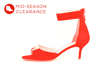 Mid-Season Clearance: Women's Shoes