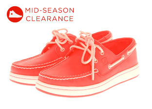 Mid-Season Clearance: Men's Shoes