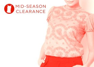 Mid-Season Clearance: Women's Tops