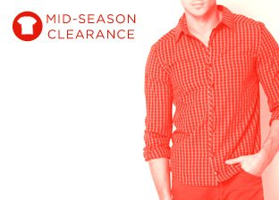 Mid-Season Clearance: Men's Tops
