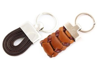 RO - Handmade in Italy Leather Keyholders