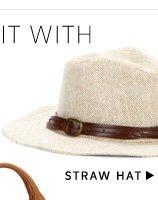 Shop Straw Hat