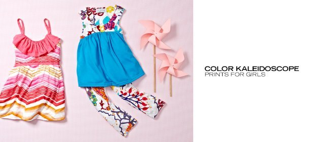 COLOR KALEIDOSCOPE: PRINTS FOR GIRLS, Event Ends May 8, 9:00 AM PT >