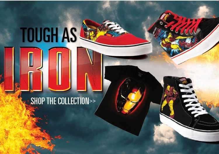 The Shoes Make the Man. Don't Miss Our Iron Man Collection.