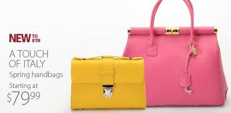 Bright Ideas Spring Handbags