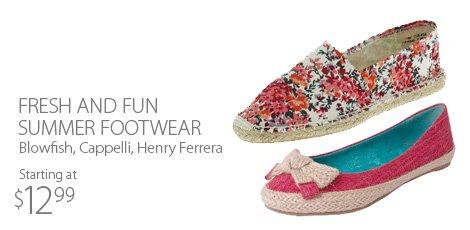 Fresh And Fun Summer Footwear
