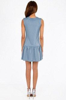 Dyna Drop Waist Dress $28