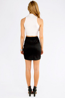 Slant Cut Skirt $23