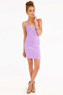 Octometal Lattice Bandage Dress $53
