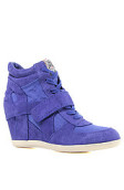 <b>Ash Shoes</b><br />The Bowie Sneaker in Indigo Suede