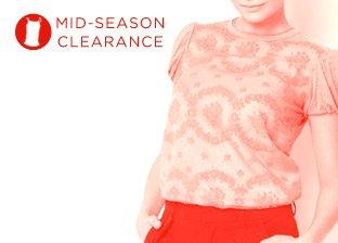 Mid-Season Clearance: Women's Tops