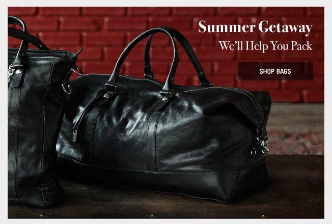 Summer Getaway - We'll help you pack