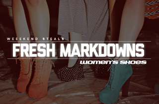 Fresh Markdowns: Women's Shoes