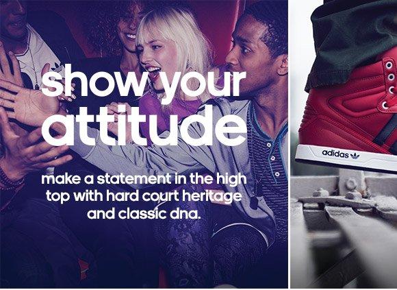 Shop Men's Court  Attitude Shoes »