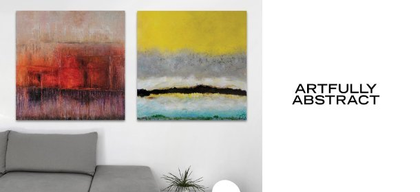 ARTFULLY ABSTRACT, Event Ends May 9, 9:00 AM PT >