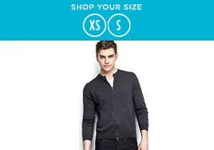 Shop Your Size: XS-S Shirts & Jackets