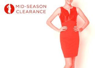 Mid-Season Clearance: Dresses