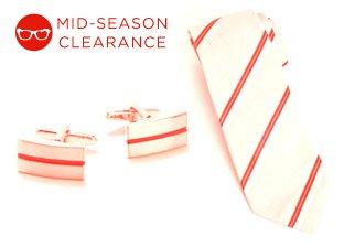 Mid-Season Clearance: Men's Accessories