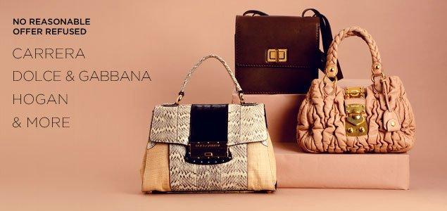 No Reasonable Offers Refused: Chloe, Miu Miu, Dolce & Gabbana & more