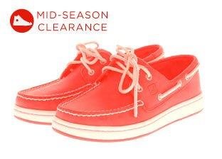 Mid-Season Clearance: Men's Shoes