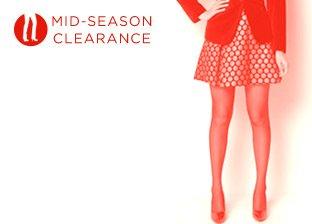 Mid-Season Clearance: Women's Bottoms