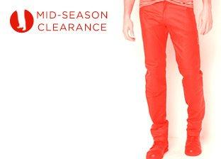 Mid-Season Clearance: Men's Bottoms