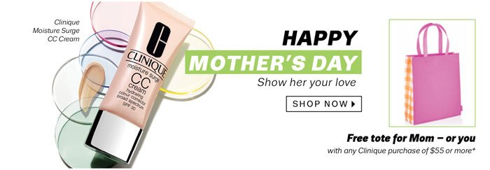 Happy Mother's Day. Shop Now.