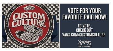 Vans Custom Culture Voting