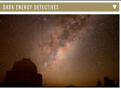 Dark Energy Detectives