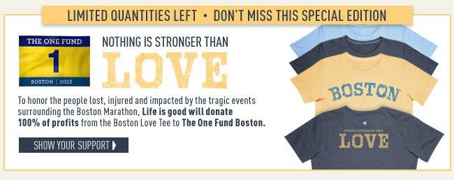 Shop the Boston Love Tee