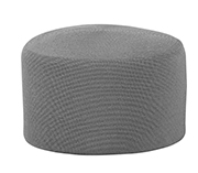Crocheted Graphite Outdoor Pouf $149. Reg.  $199.