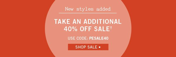 Take an Additional 40% Off Sale
