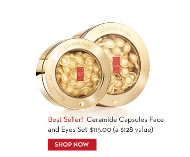 Best Seller! Ceramide Capsules Face and Eyes Set $115.00 (a $128 value). SHOP NOW.