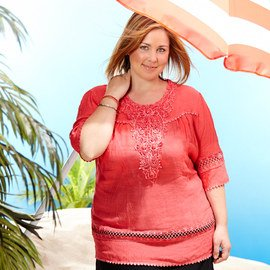 By the Beach: Plus-Size