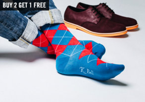 Shop New Brand: Bright Socks by K. Bell