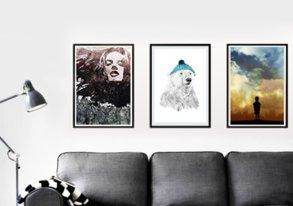Shop Wall Art: 3-D Canvas & Fine Prints