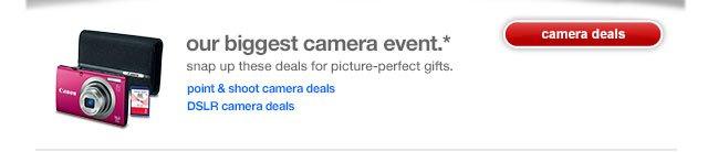 Our biggest camera event.*