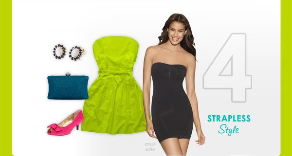 4 - Strapless Style - Style 4J34