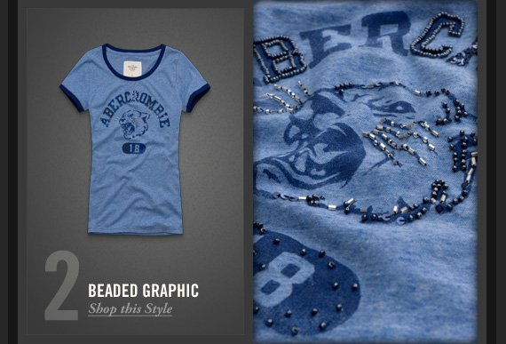 2  BEADED GRAPHIC     Shop this Style